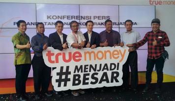 Foto TrueMoney Indonesia Raih Digital Brand Awards 2017