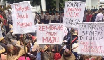 Foto Soal Semen Rembang, PDIP: Investasinya Besar untuk Kesejahteraan, Jangan  Digagalkan