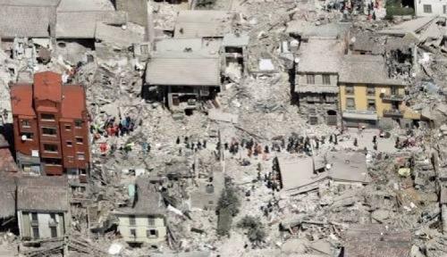 Foto Gempa Maha Dasyat Guncang Meksiko Tewaskan 58 Orang