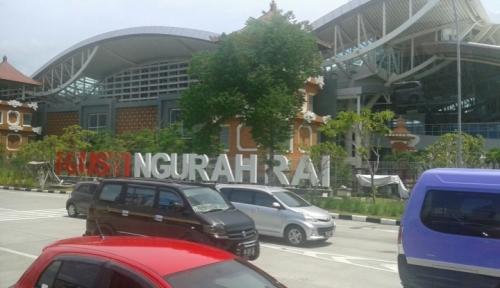 Foto Kebakaran, Bandara Ngurah Rai Tak Beroperasi