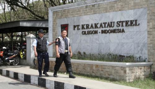 Foto Karyawan Terlibat Aksi Terorisme, Saham Karakatau Steel Diamuk Investor!