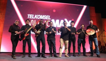 Foto Telkomsel Luncurkan MusicMax & NewLangitMusik