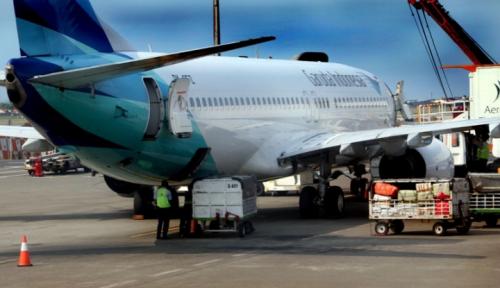 Foto Garuda Indonesia-GMF Perpanjang Kerja Sama Perawatan Pesawat