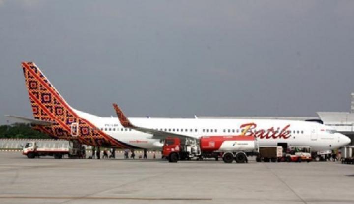 Foto Berita Ini Kata Batik Air Soal Ban Amblas di Bandara Manokwari