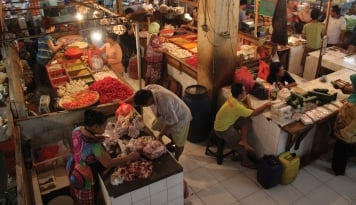 Foto Tangerang-DKI Jakarta Kerja Sama Ketahanan Pangan