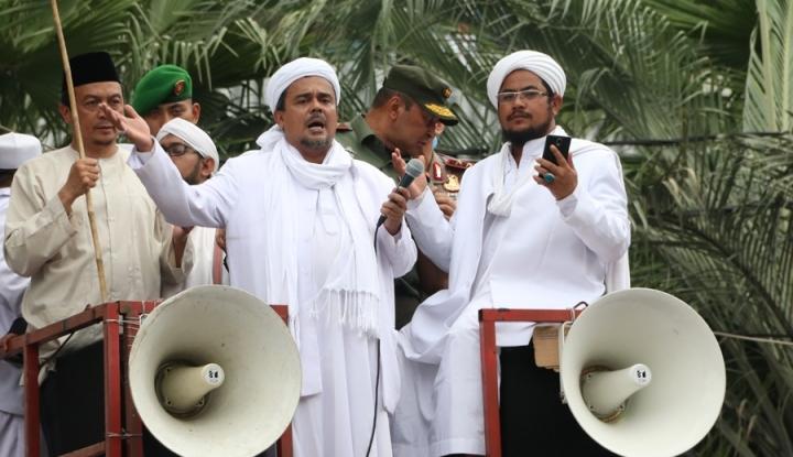 Foto Berita Eggi: Kemlu Jangan Mengaitkan Antara ISIS dan Habib Rizieq