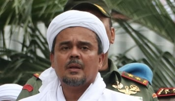 Foto Seruan Habib Rizieq Nih Keren: Insya Allah Para Habib, Kiai...