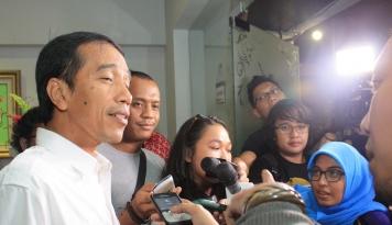 Foto Jokowi dan Lima Pengusaha Nasional akan Bertemu CEO Terkemuka India