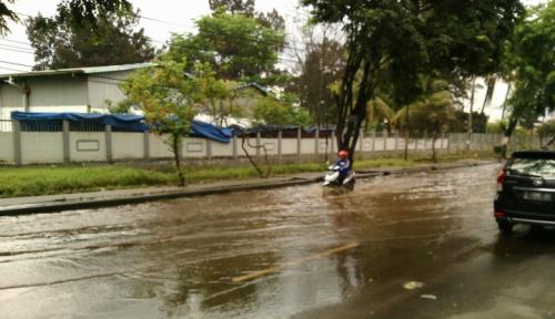 Foto Lalu Lintas Nagreg Lancar Pasca-Banjir
