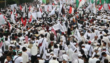 Foto Meski Absen 212, Muhammadiyah Tetap Kawal Penistaan Agama