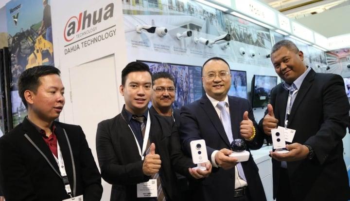 Foto Berita Infrastructure Week 2016, Dahua Perkenalkan Kamera HDCVI 4 MP dan Recorder Super Kompatibel