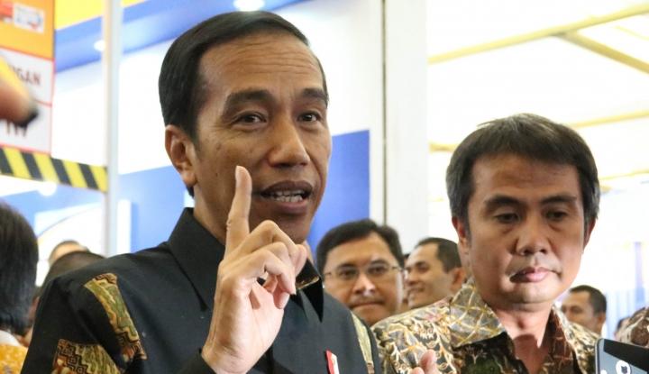 Foto Berita Soal Suap Pajak, Jokowi Yakin KPK bisa Profesional