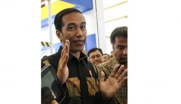 Foto Jokowi Tak Kunjung Terbitkan Moratorium Sawit,  Ada Apa?