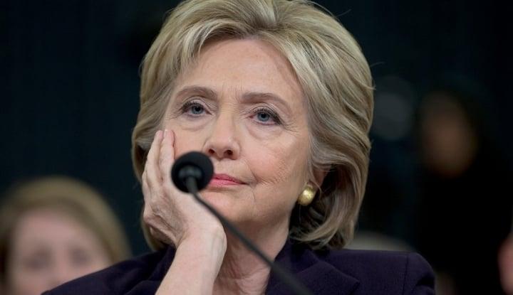 Mencak-mencak ke Senat AS, Hillary Clinton Akui Sakit Hati Usai Sidang Pemakzulan Trump - Warta Ekonomi