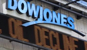 Foto Dow Jones Catatkan Rekor Tertingginya