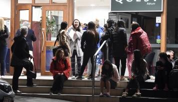Foto Kapal Tempur Asing Bantu Evakuasi Korban Gempa Selandia Baru