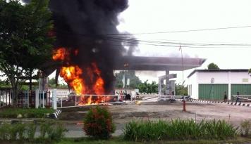 Pabrik Indofood Terbakar Hebat, Sekarang Kondisinya....