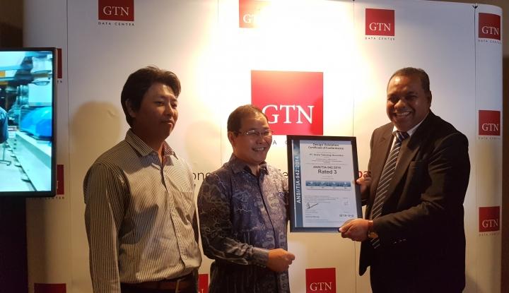 Wow, GTN Data Center Raih Sertifikasi Rated 3 - Warta Ekonomi