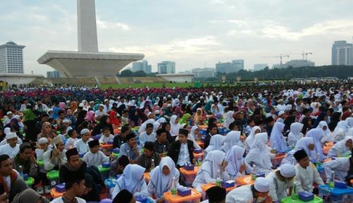 Foto Sandiaga akan Fungsikan Monas untuk Acara Semua Agama