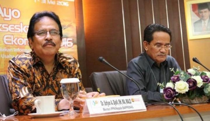 Sofyan Djalil, Wajah Lama Jabat Menteri ATR Lagi - Warta Ekonomi
