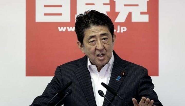 Corona Menyebar di Jepang, PM Shinzo Abe Bersembunyi? - Warta Ekonomi