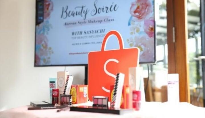 Foto Berita Sasar Konsumen Wanita, Shopee Luncurkan Beauty Fair