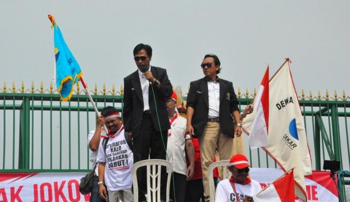Foto Berita 10 Ribu Buruh Bakal Demo Tolak Keberadaan TKA