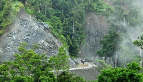 Foto Waspada, Sukabumi Siaga Bencana Hingga Tahun Depan