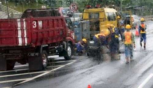 Foto Renovasi Jalan Solok-Kerinci, Kementerian PUPR Anggarkan Rp 120 Miliar