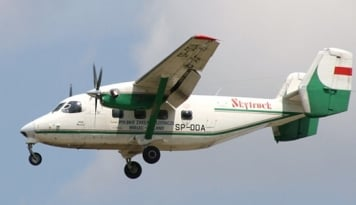 Foto Polri: Badan Skytruck Sudah 50 Persen Ditemukan