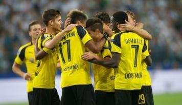 Foto Tanpa Aubameyang, Dortmund Hanya Mampu Bermain Imbang