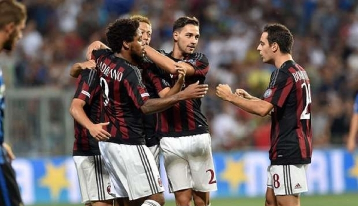 Foto Berita Bangkit dari Ketinggalan, Milan Taklukkan Olympiakos 3-1