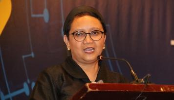 Foto Di PBB, Menlu Bicara Soal Kebebasan Beragama