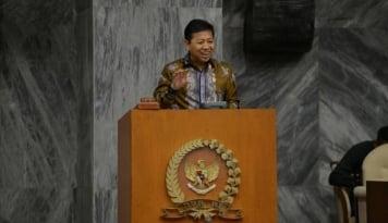 Foto Setya Novanto Prihatin Terkait Percobaan Teror di Masjidil Haram