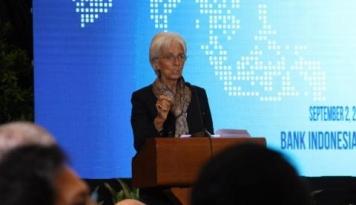 Foto IMF Yakin Pertemuan di Bali Akan Aman
