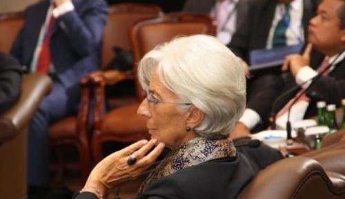 Foto Bos IMF Sarankan Dialog Guna Atasi Perang Dagang AS-China