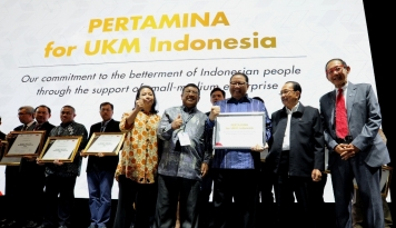 Foto Pertamina Janji Bakal Tingkatkan CSR ke Sektor UKM