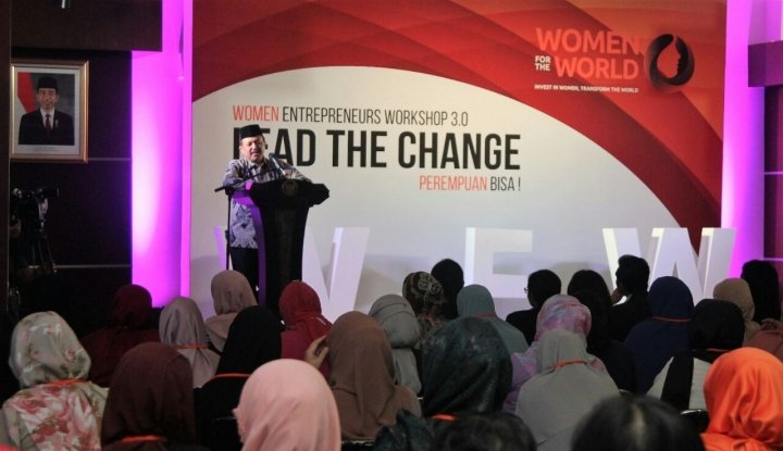 Foto Modal Jangan jadi Hambatan, Kemenkop Dorong Wanita Jadi Wirausaha
