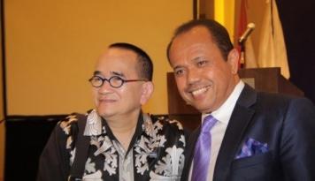 Foto Harry Ponto Bersaing dengan Juniver Gersang Rebutkan Posisi Ketua Peradi