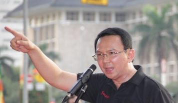 Foto Ahok Tak Pilih Jokowi-Ma'ruf?