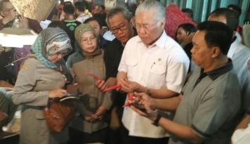 Foto Jelang Ramadhan, Mendag Pastikan Stok Pangan Aman Terkendali
