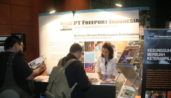 Foto Berita Gaji dan Tunjangan Karyawan Jadi Keunggulan Freeport Indonesia