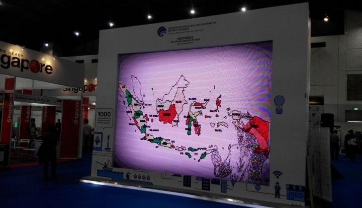 kominfo kebut 57 kabupaten terhubung internet