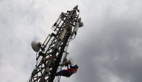 Foto Operator Telekomunikasi AS Uji Coba Jaringan 5G