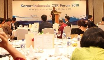 Foto Kemenkop Minta Perusahan Korea Tingkatkan Kegiatan CSR