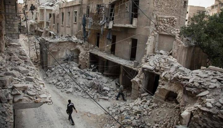Foto Berita Masyarakat di Indonesia Bisa Bantu Aleppo Lewat Palang Merah Dunia