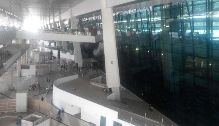 Foto Berita Bandara Soetta Sambut Wisman Pertama di Tahun 2017