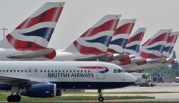 Foto Awak Kabin British Airways Kembali Gelar Aksi Mogok