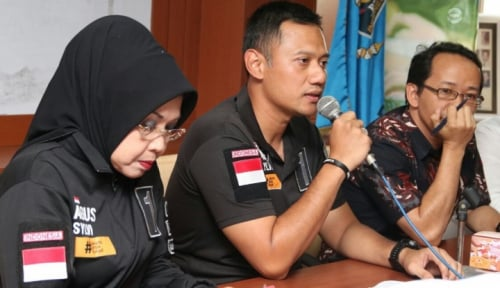 Foto AHY Inisiasi Aplikasi Mobile Pencegah Kecurangan Pilkada