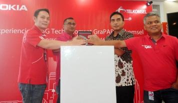 Foto Telkomsel-Nokia Uji Coba Narrowband Internet of Things Pertama di Indonesia